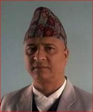 Jay Narayan Khanal, CAO of Dharmadevi Municipality
